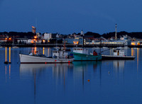 Twilight in Rockland Harbor #HRB-007
